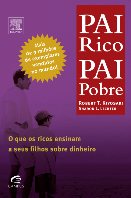 livros para investidores pai rico pai pobre